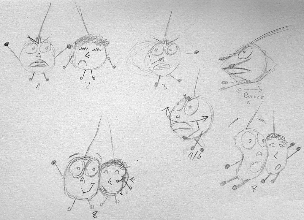 Skizze-GIF-Liebe-1024x741 Animation: Das Leben eines Kirschen-Pärchens